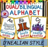 DUAL/BILINGUAL ALPHABET DNEALIAN