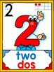 DUAL/BILINGUAL NUMBER CARD SET 1-20