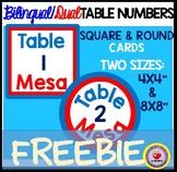 DUAL/BILINGUAL Table Numbers