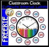 Clock Labels FREEBIE