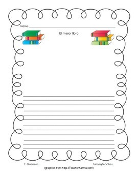 DUAL LANGUAGE: Opinion (Opiniones) Writing for Primary (Escritura para primaria)