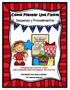 Sequencing (SPANISH-Sequencia y Procedimientos) Como Planear una Fiesta