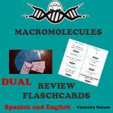 DUAL-- MACROMOLECULES REVIEW FLASHCARDS FOR ELLs