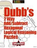 DUBB'S Two-Way Addition Subtraction Logical Reasoning Puzz