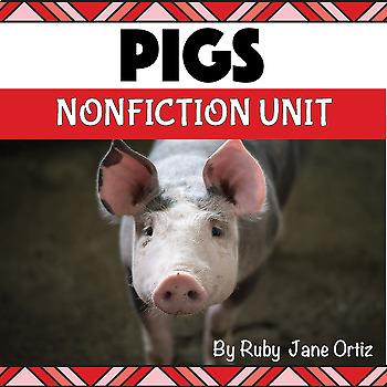 All About Pigs Nonfiction Unit