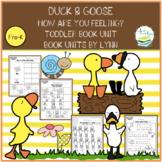 DUCK & GOOSE TODDLER BOOK UNIT