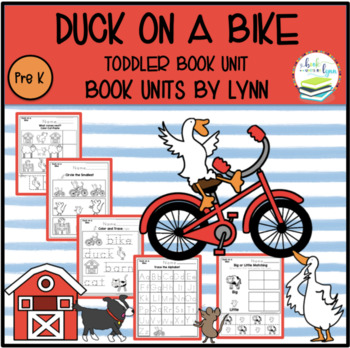 DUCK ON A BIKE TODDLER BOOK UNIT