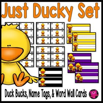 Ducks Theme Classroom Set and Duck Bucks