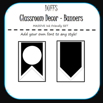 DUFF Classroom Decor - Ink Friendly Set