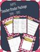 DUFFS Teacher Binder Package (Pink Polka & Navy Basic)