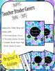 DUFFS Teacher Binder Covers (Watercolor Polka BLUES Binder