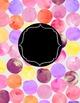 DUFFS Teacher Binder Covers (Watercolor Polka PINKS Binder