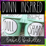 DUNN INSPIRED Label bundle!:pre-made labels