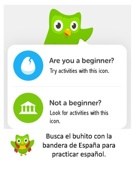 DUOLINGO Food-Themed Spanish/English Language Exchange Event