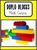 DUPLO Blocks Math centers