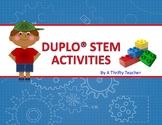DUPLO STEM ACTIVITIES