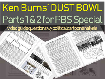 DUST BOWL: PARTS 1 AND 2 (video guide & questions PART 2 o