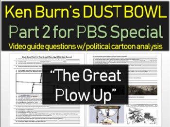 DUST BOWL: THE GREAT PLOW UP (video guide & questions for PART 1 of PBS special)