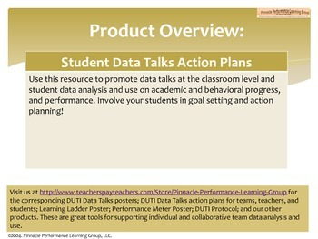 DUTI Data Talks Action Plans for MS and HS Students