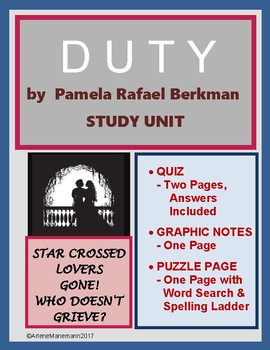 DUTY, by Pamela Berkman - Short Story Unit