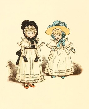 DVD - 350 public domain Kate Greenaway images
