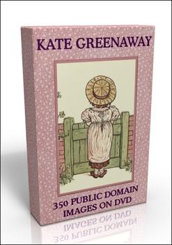 DVD - 350 public domain Kate Greenaway images