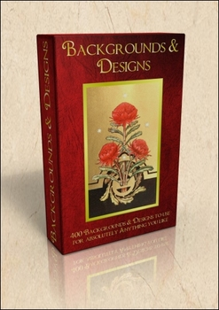 DVD - Backgrounds & Designs.  400 out-of-copyright images
