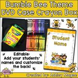 DVD Case Crayon Box Bumble Bee Theme