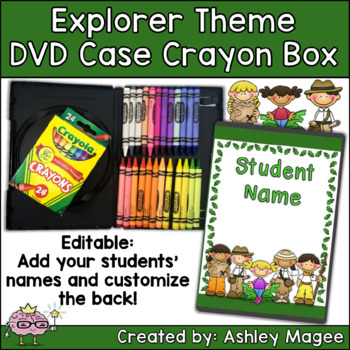 DVD Case Crayon Box Explorer Theme