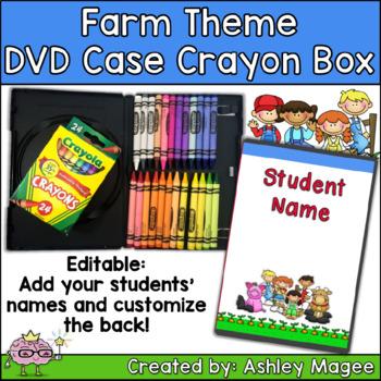 DVD Case Crayon Box Farm Theme
