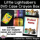 DVD Case Crayon Box Little Light Saber Friends Theme