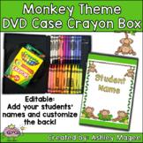 DVD Case Crayon Box Monkey Theme