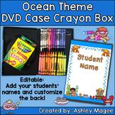 DVD Case Crayon Box Ocean Theme
