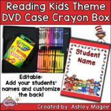 DVD Case Crayon Box Reading Kids Theme
