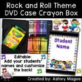 DVD Case Crayon Box Rock and Roll Kids Theme