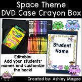 DVD Case Crayon Box Space Theme
