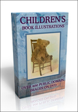DVD - Children's Books.  500 out-of-copyright images to use for almost anything!