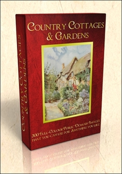 DVD - Country Cottages.  300 out-of-copyright illustrations to use for anything!
