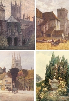 DVD - Picturesque English counties of Kent, Surrey & Sussex. 330 images.