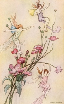 DVD - Fairy & Fantasy - over 300 public domain images