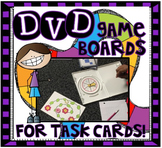 DVD Task Card Game Boards!