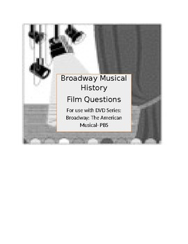 DVD Guide questions- The American Musical