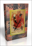 DVD - Modern Art inc. Kandinsky, Klee, Munch. 500 public domain images