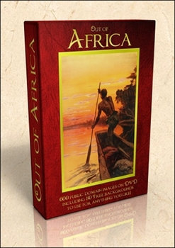 DVD - Out of Africa.  520 out-of-copyright images to use for anything!