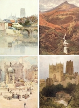 DVD - Picturesque East Midlands & North of England.  300 images.