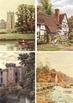 DVD - Picturesque West Midlands of England & Wales.  250 images.