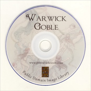 DVD - Warwick Goble.  Public Domain fairy paintings!
