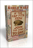 DVD - World War 1 posters, book illustrations, sheet music & more