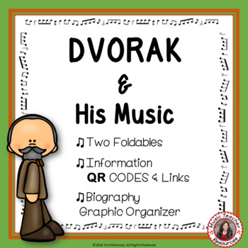Composer Foldables: DVORAK