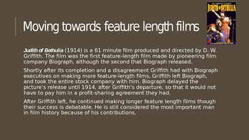 D.W. Griffith Powerpoint Presentation